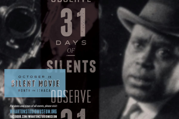 October is Silent Movie Month